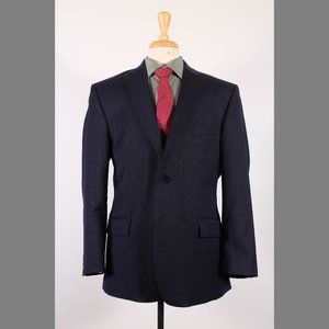 Jos. A. Bank 44R Navy Sport Coat G245